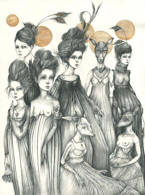Beneath strange moons by Liza Corbett
