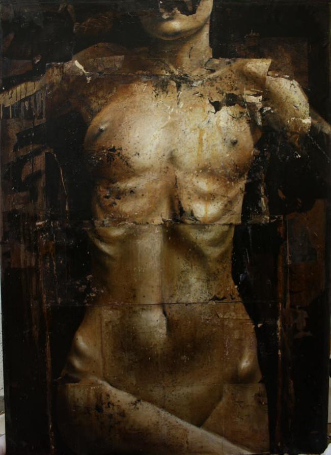 Dario Puggioni, dark, painting, art