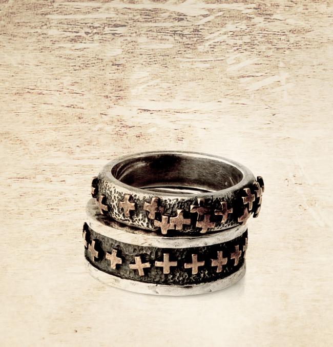 Tobias Wistisen, jewellery, ring, cross, avantgarde