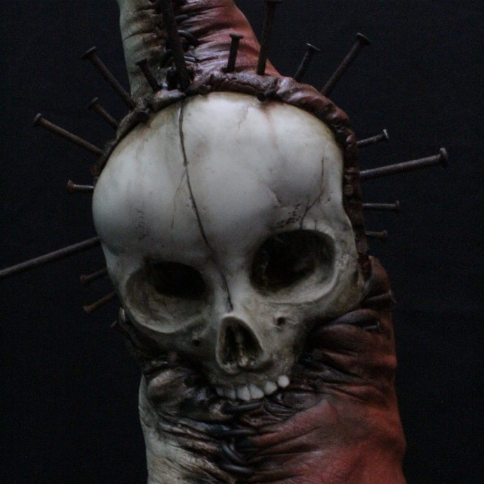 Emil Melmoth, sculpture, dark, obscure, goth, art,