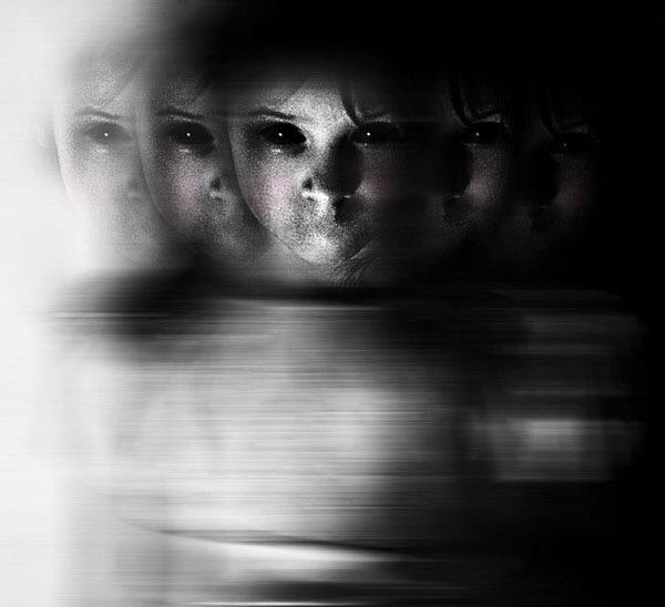 Asia Jedlińska, photography, digital,photomanipulation, dark, goth, obscure