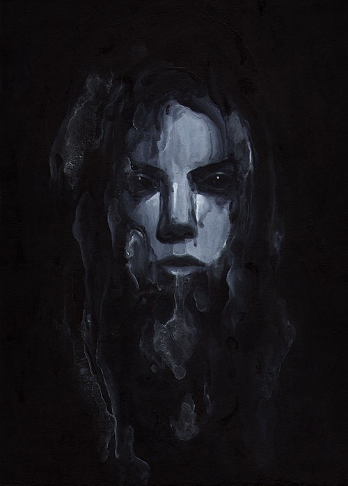 Edward Cao, painting, dark, art, obscure