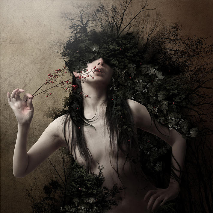Kiyo Murakami, photography, digital, photomanipulation, dark, ethereal