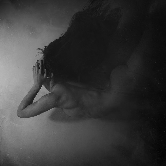 Mary Jeanne,photography, dark, obscure, black & white, nude