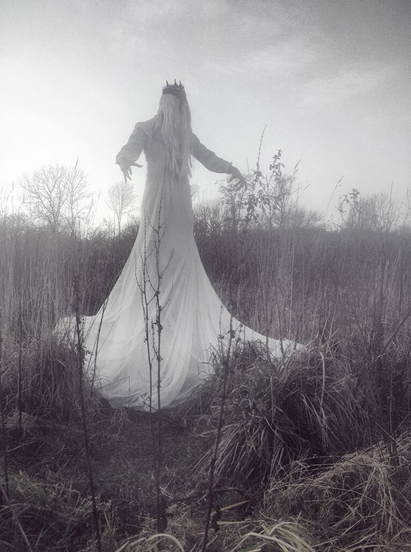 Nona Limmen, photography, analog, film, dark, obscure, occult, folk, celtic, art, fine art
