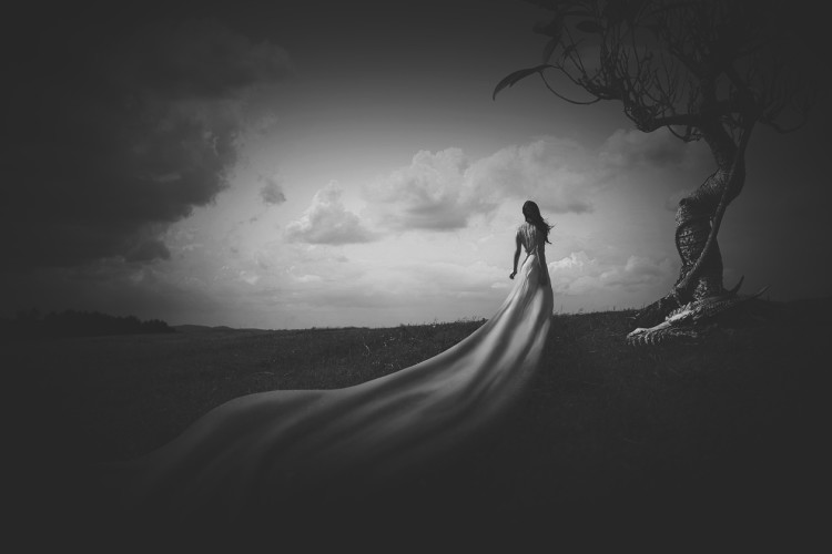 Victor Hamke, photography, dark, obscure, black and white, ethereal