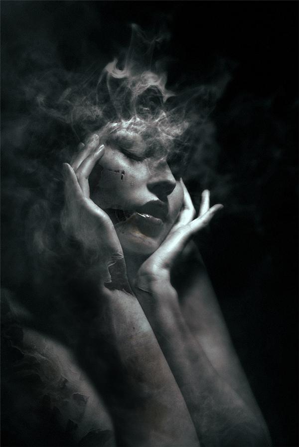 Federico Bebber, digital art, photomanipulation, digital, dark, obscure, horror