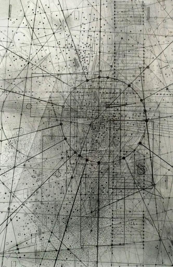 Emma McNally, pencil, graphite, dark, obscure, abstract,