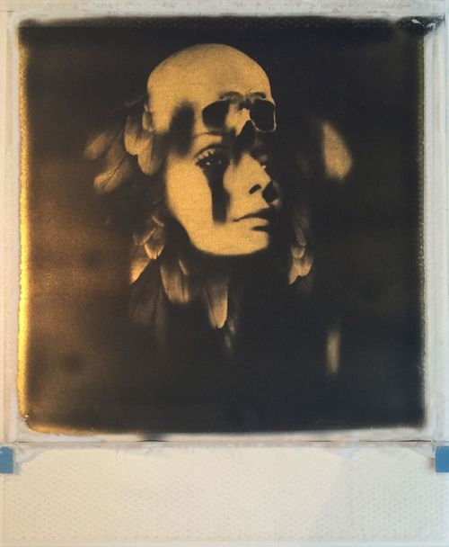Andrew J Millar, photography, analog, polaroid, impossible, dark, obscure, film manipulation