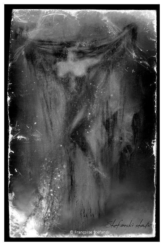 Françoise Stefanski, dark, art, obscure