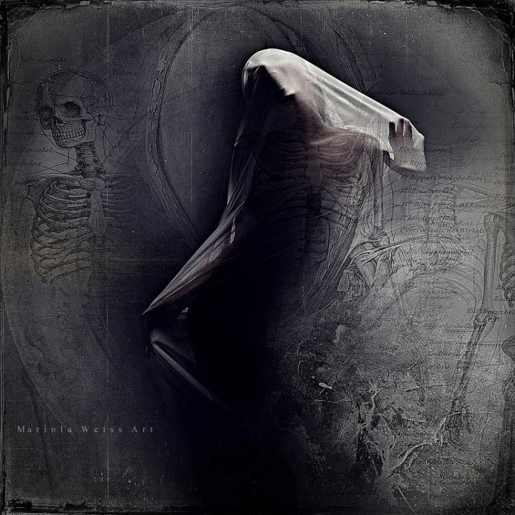 Variola Weiss, photo manipulation, digital art, dark, obscure