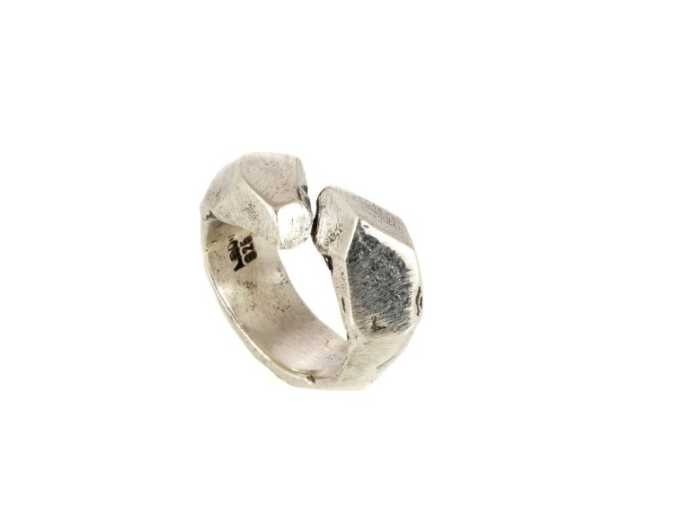 Lee Brennan, jewelry, ring, handmade, silver, avantgarde, fashion