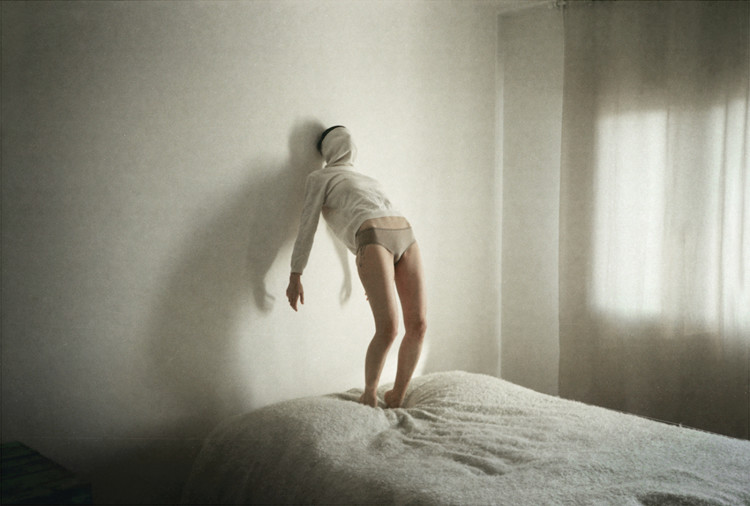 Luca Bortolato, photography, dark, ethereal, analog, film