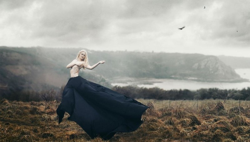 Danny Richardson, photography, ethereal, dark, obscure