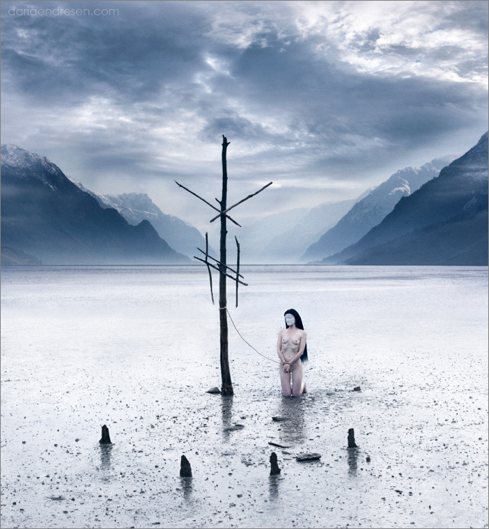 Daria Endresen, Thrjar, digital art, jewellery, dark, art, runes, interview