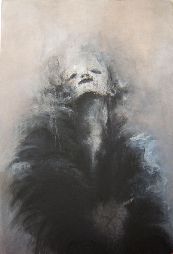 Jean-Baptiste Dumont, paint, dark, obscure, oil paint