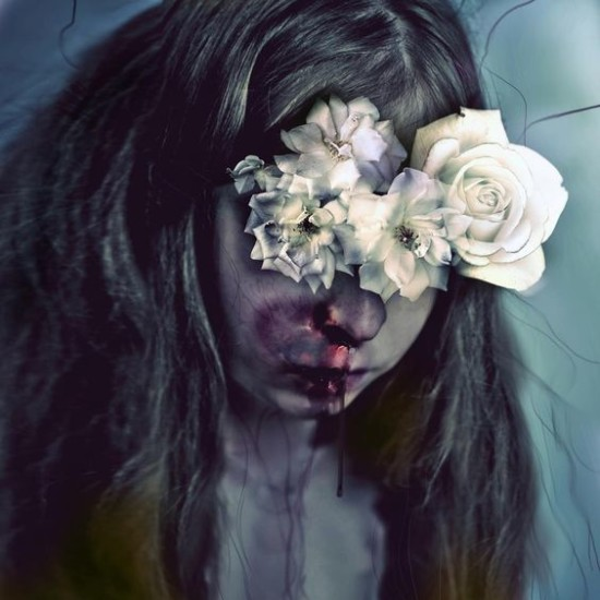 Jenn Violetta, photo manipulation, digital art, obscure, art, creepy