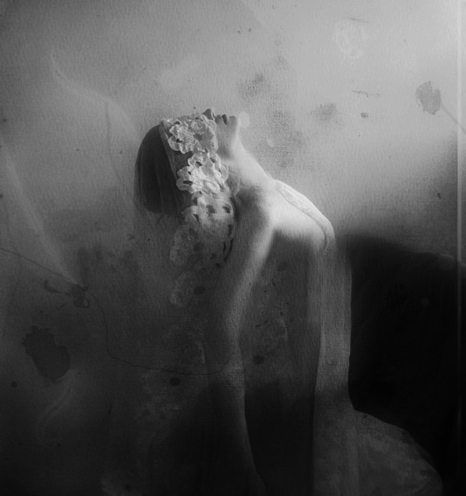 Mysterious self-portraits by Kristamas Klousch