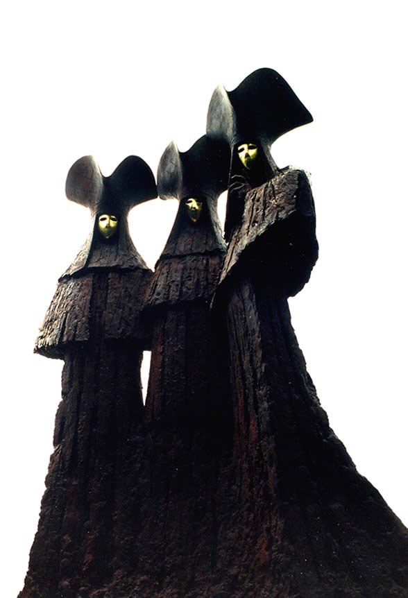 Philip Jackson, sculpture, dark, obscure