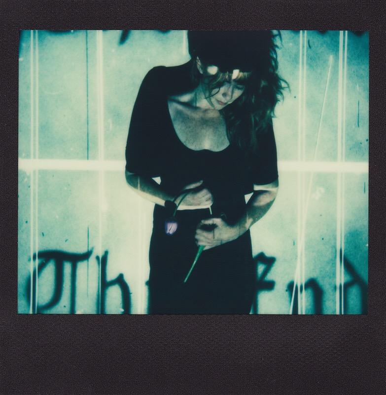 Rachel Yates, photography, polaroid, instant, impossible, dark, obscure