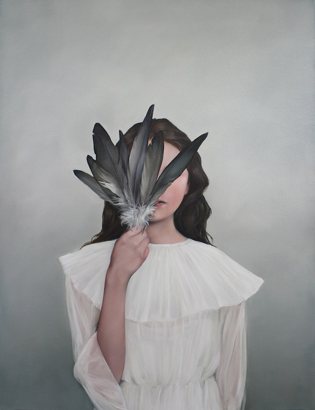 Amy Judd, painting, oil painting, ethereal, dark, obscure