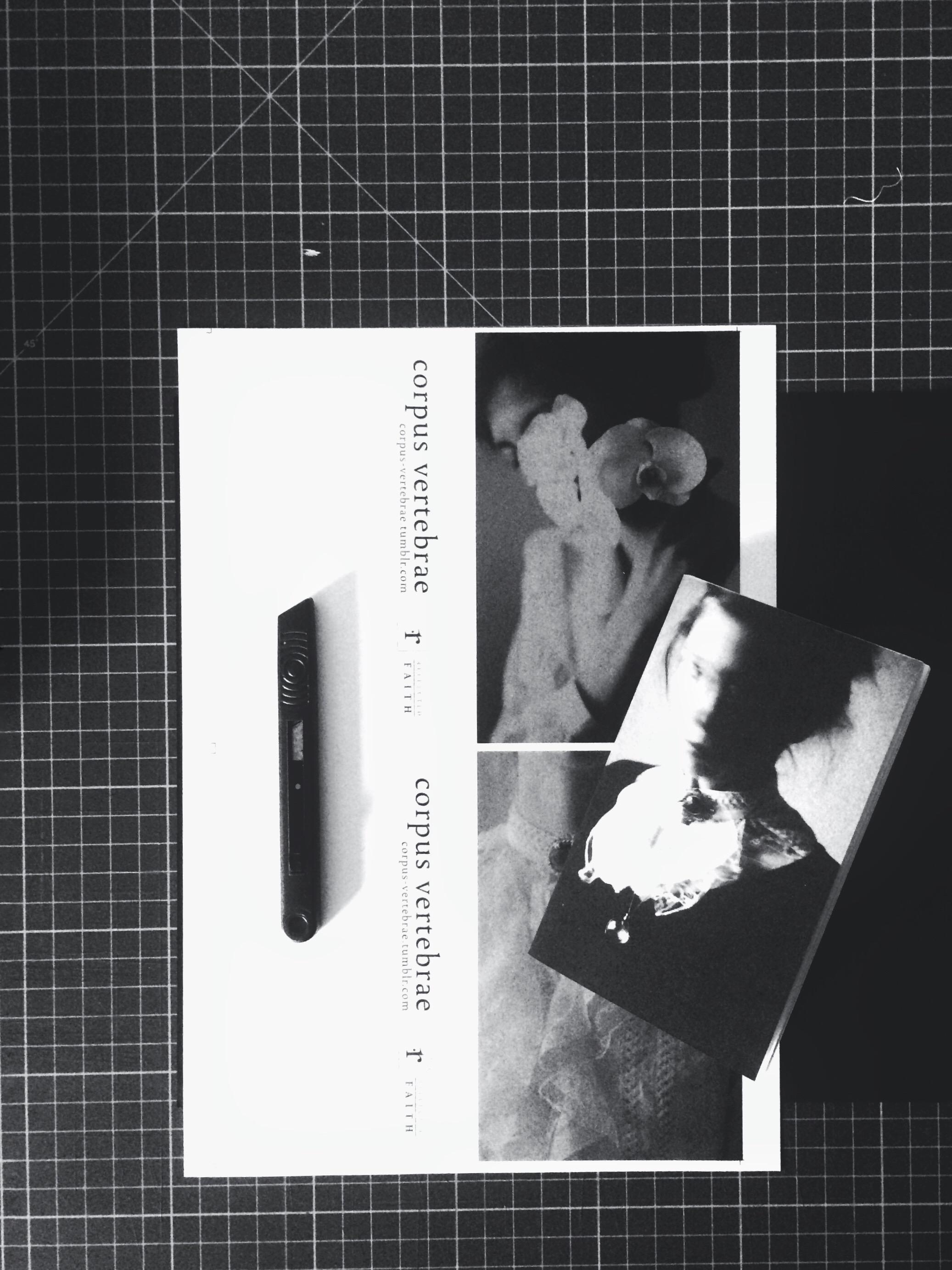 corpus vertebrae, michalina woźniak, notebooks, photography, dark, obscure
