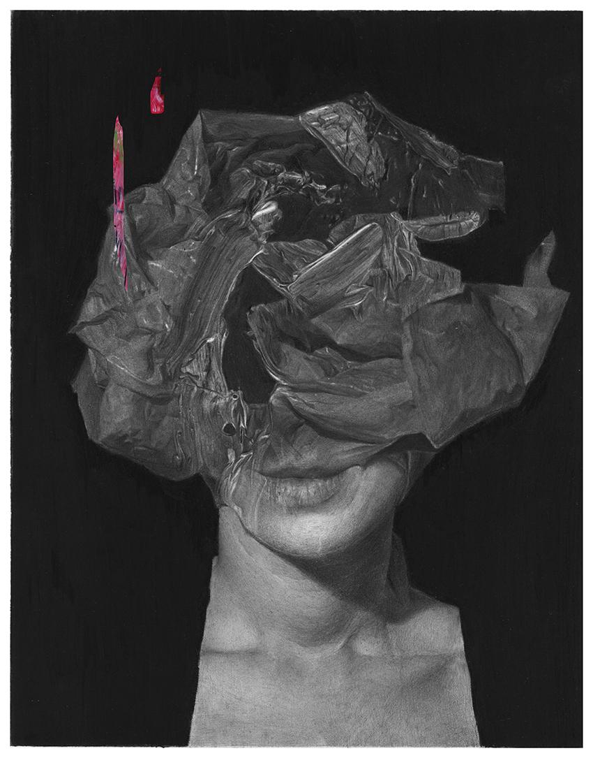 Aleksandar Mijajlovic, art, illustration, painting, dark, obscure, acrylic, pencil