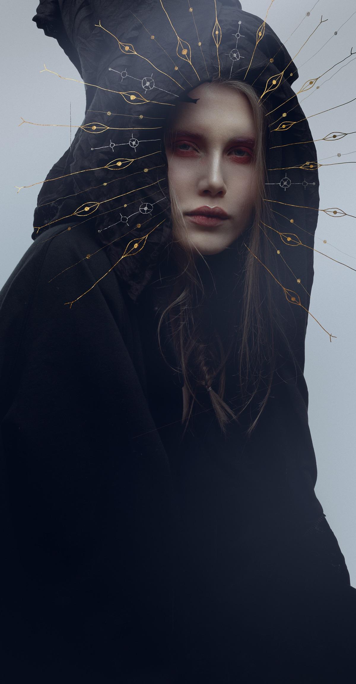 Alexander Berdin-Lazursky, photography, photo manipulation, fashion, dark, obscure