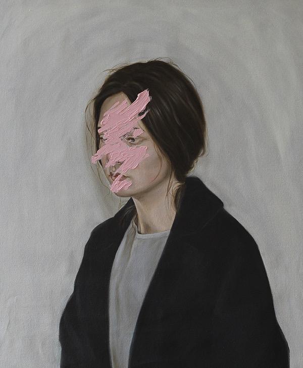 Henrietta Harris, painting, oil, oil paint, dark, obscure