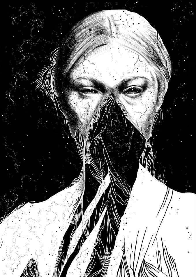 Anders Røkkum, art, illustration, dark, obscure, digital