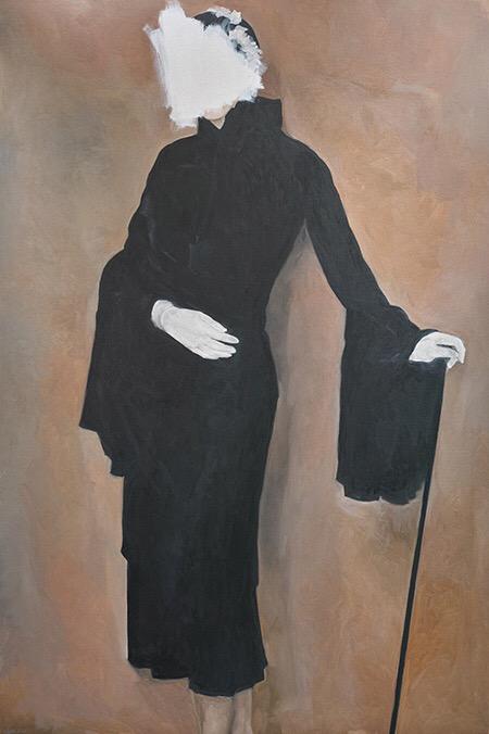 Wanda Bernardino, painting, oil painting, dark, obscure