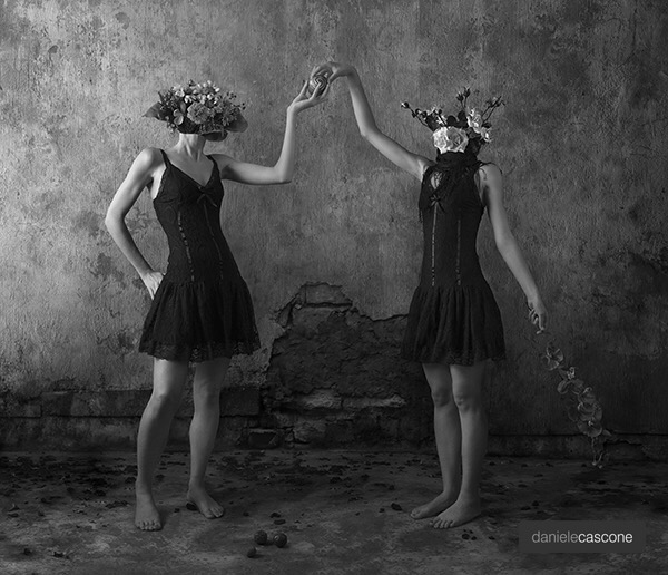 Daniele Cascone, photography, dark, obscure, surreal photography, black and white