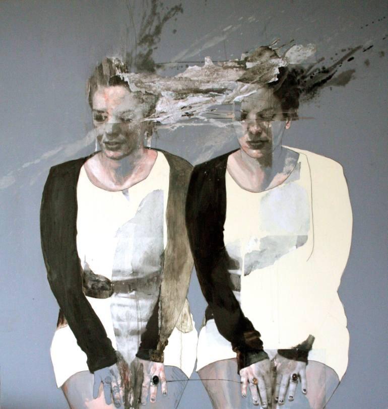 Jessica Rimondi, painting, dark, obscure