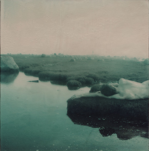 Anna Morosini, photography, dark, obscure, polaroid, instant photography
