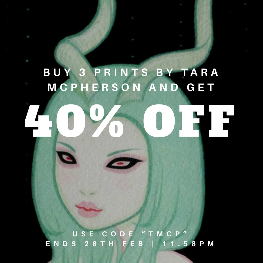 Tara McPherson, sale, prints, pop surrealism, low brow art