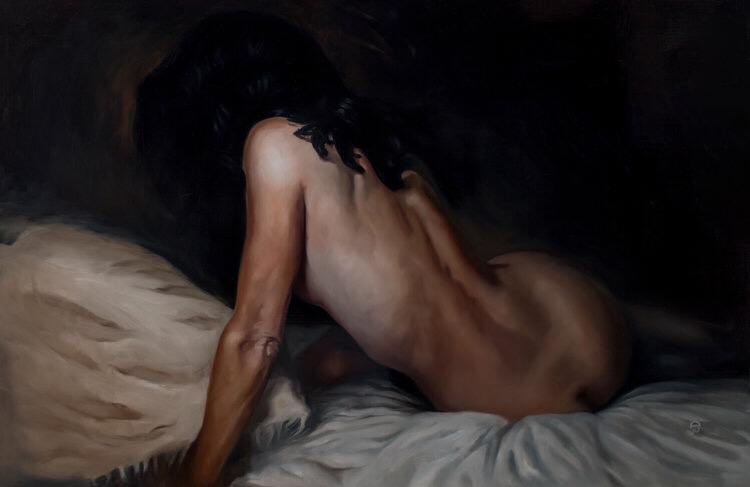 James Taylor Gray, painting, dark, art, obscure