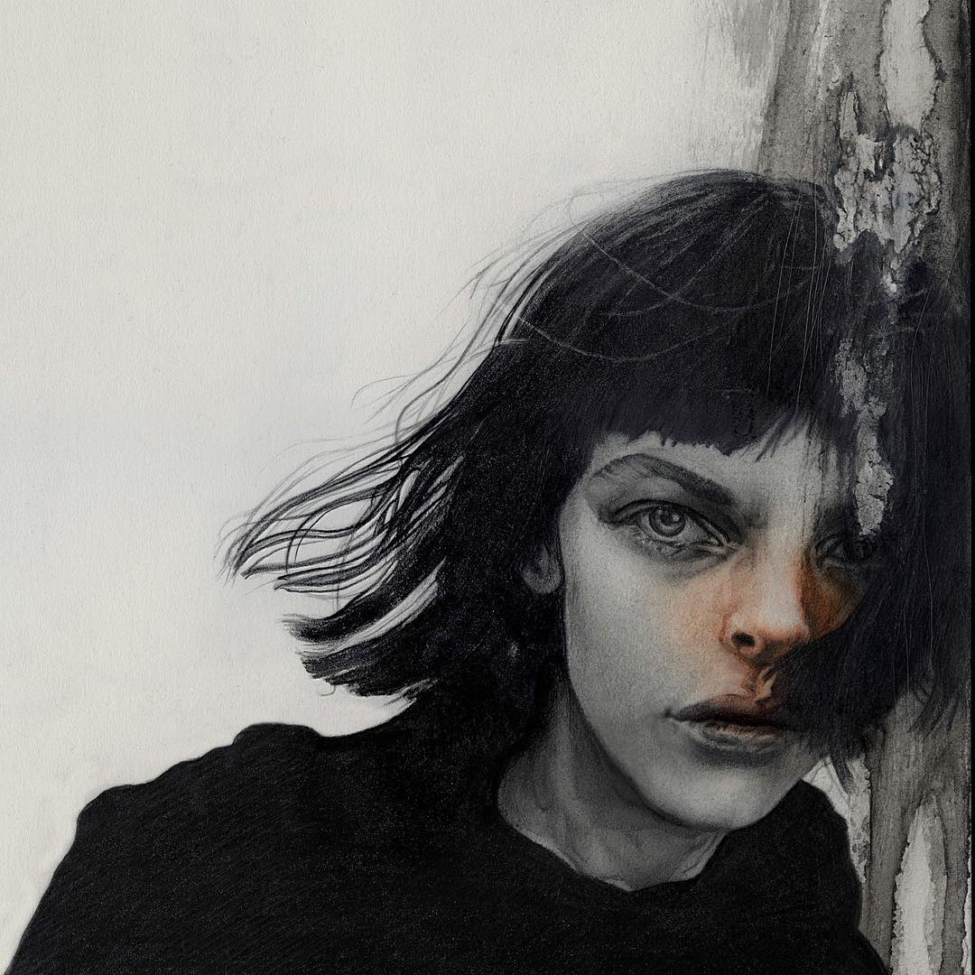 Masato Tsuchiya, painting, dark, art, obscure